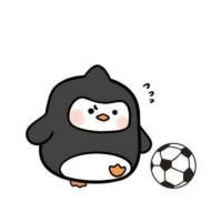 企鹅爱踢球